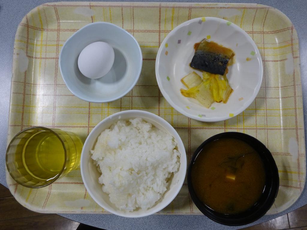 第7菱風寮平日朝食