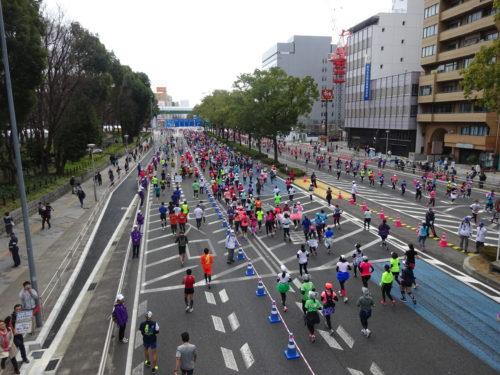 名古屋中心部マラソンその1