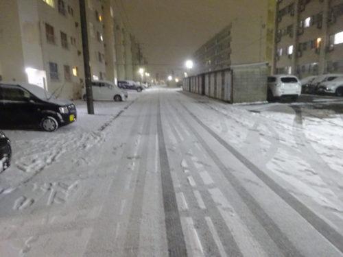 愛知県大府寮雪の日