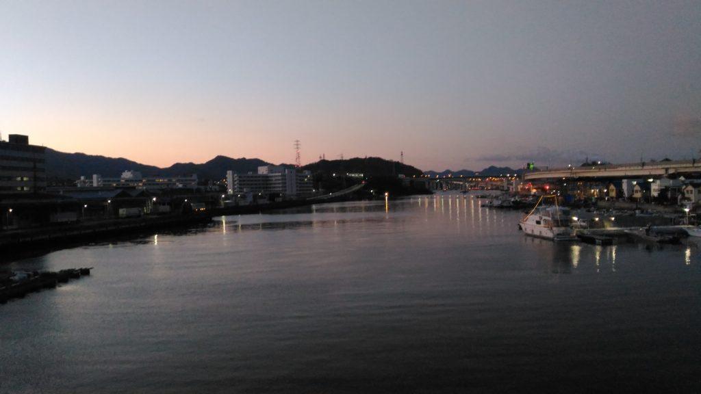 黄金橋からの景色