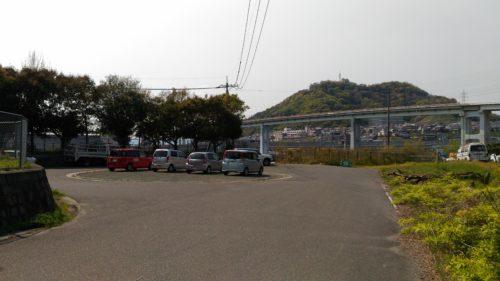東洋大橋が見える場所駐車場