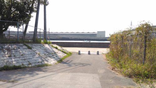 東洋大橋が見える場所入口