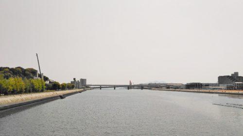 昭和橋からの眺め
