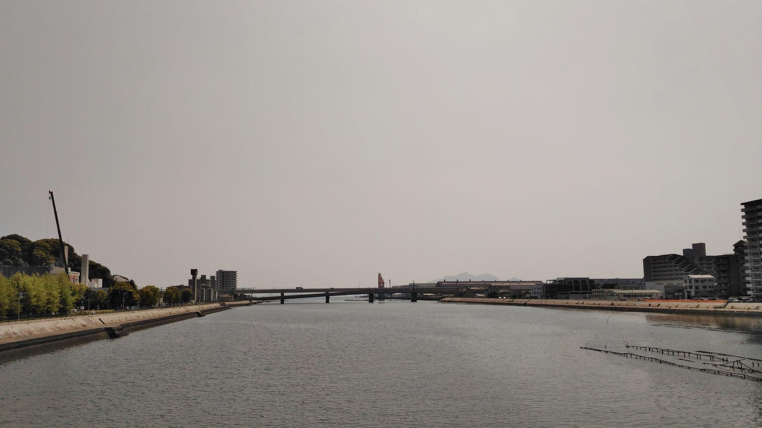 昭和大橋からの眺め
