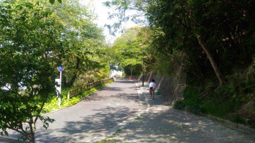 江波山公園道路その1