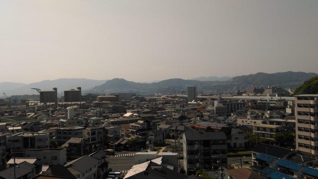 江波山気象館眺めその2