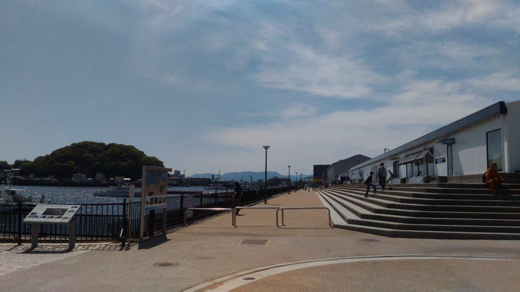 ACTUS海側