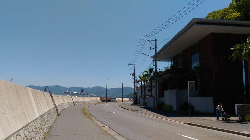 元宇品海岸沿い道路その1