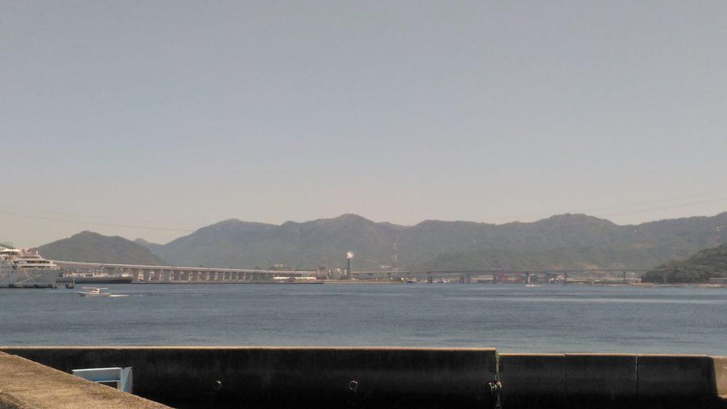 元宇品海岸沿い景色その2