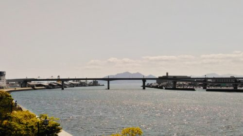 宮島と高速3号線