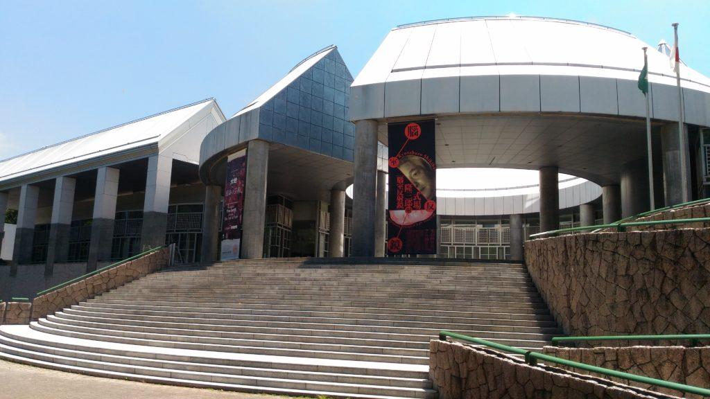広島市現代美術館正面口