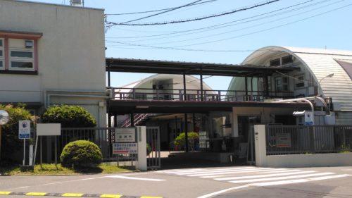 放射線影響研究所通用門