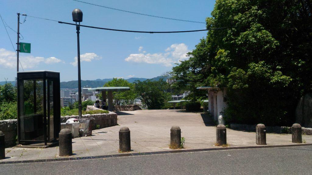 富士見台展望台入口