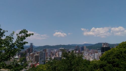 富士見台展望台からの眺めその4