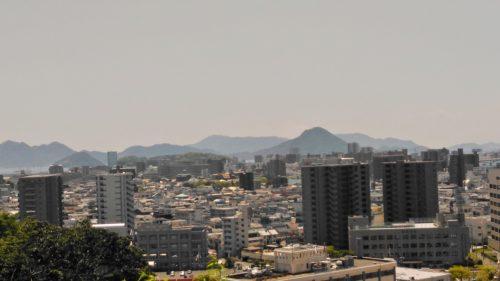 富士見台展望台からの眺めその6