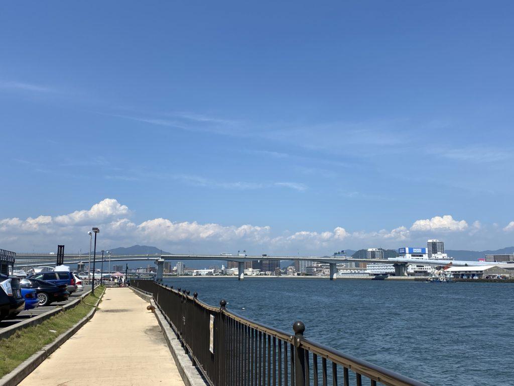 ボートパーク広島連絡通路