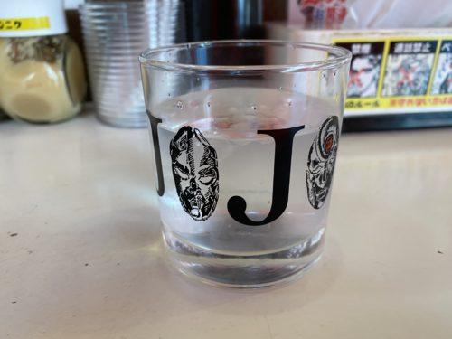 ジョジョのガラスコップ