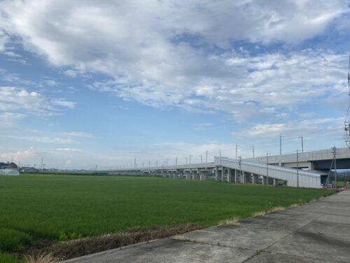 北陸新幹線建設中