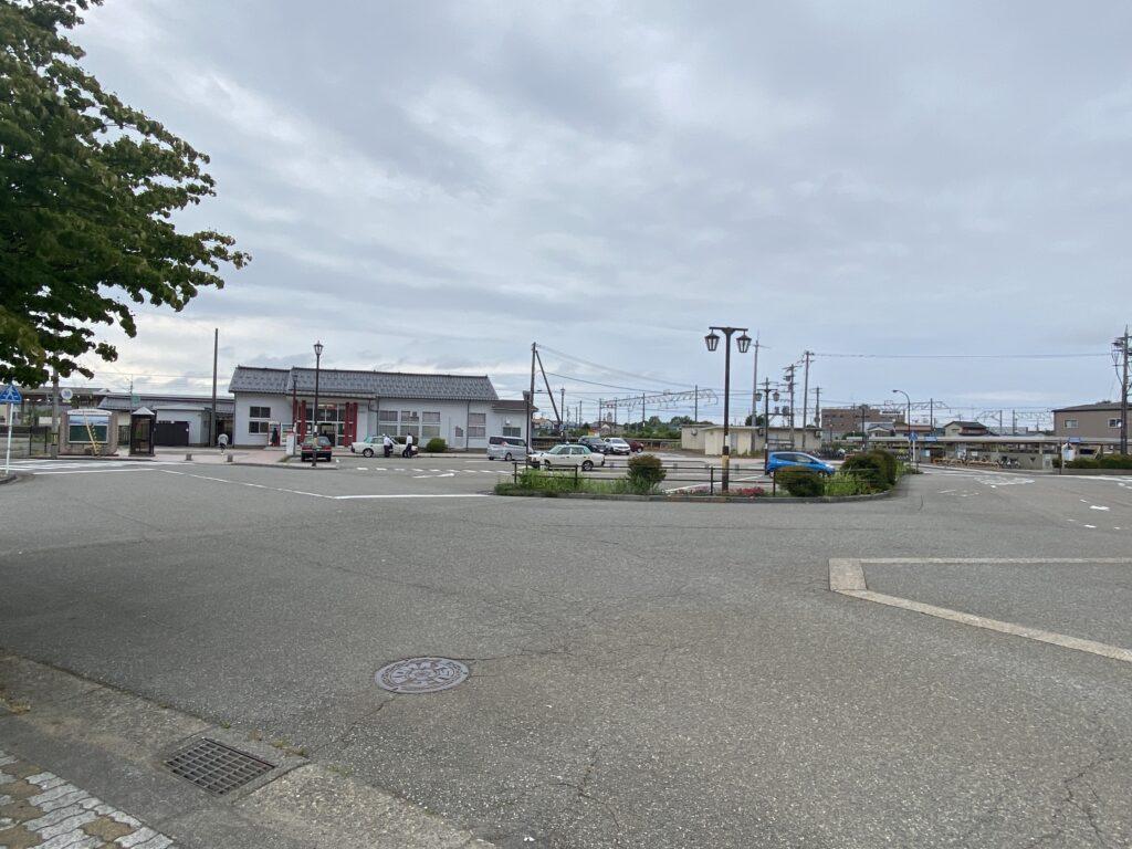 JR粟津駅