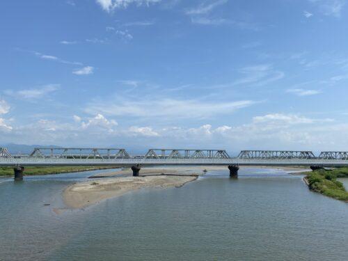 北陸本線鉄橋