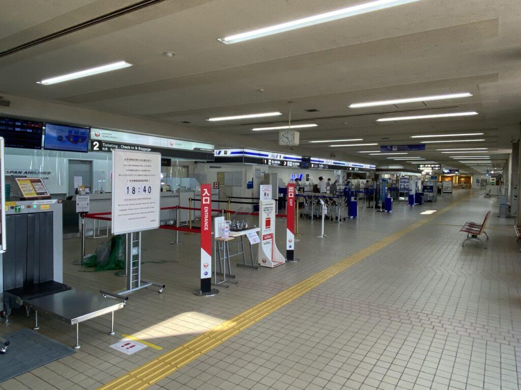 小松空港 搭乗手続き