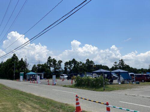 ひまわり村 臨時駐車場