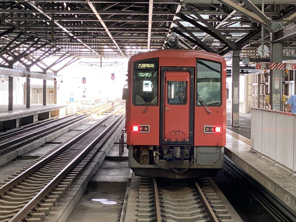 JR福井駅 九頭竜線車両