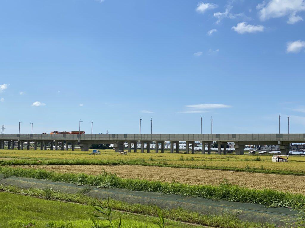 北陸新幹線 工事中